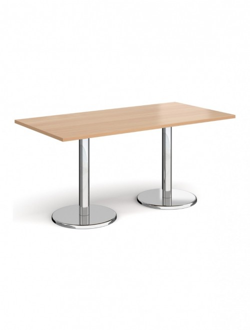 Rectangular Dining Table Pisa 1600mm PDR1600 by Dams