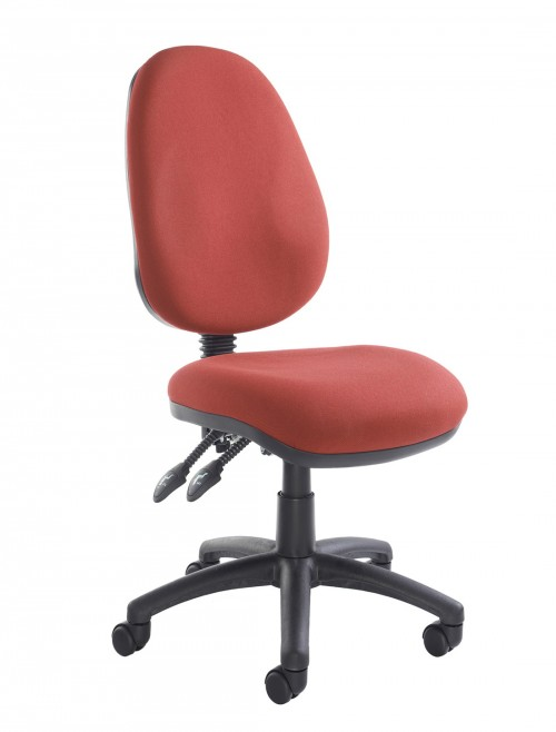 Fabric Office Chair Burgundy Vantage 100 Operator Chair V100-00-BU by Dams