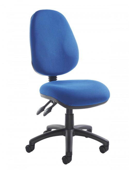 Fabric Office Chair Blue Vantage 100 Operator Chair V100-00-B by Dams
