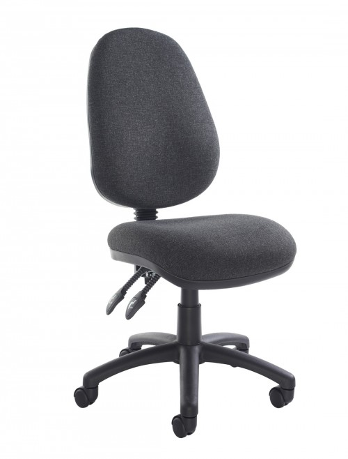 Fabric Office Chair Charcoal Vantage 100 Operator Chair V100-00-C by Dams