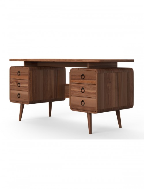 Home Office Desk Java Wood Somerset Computer Desk AW3110 by Alphason Dorel