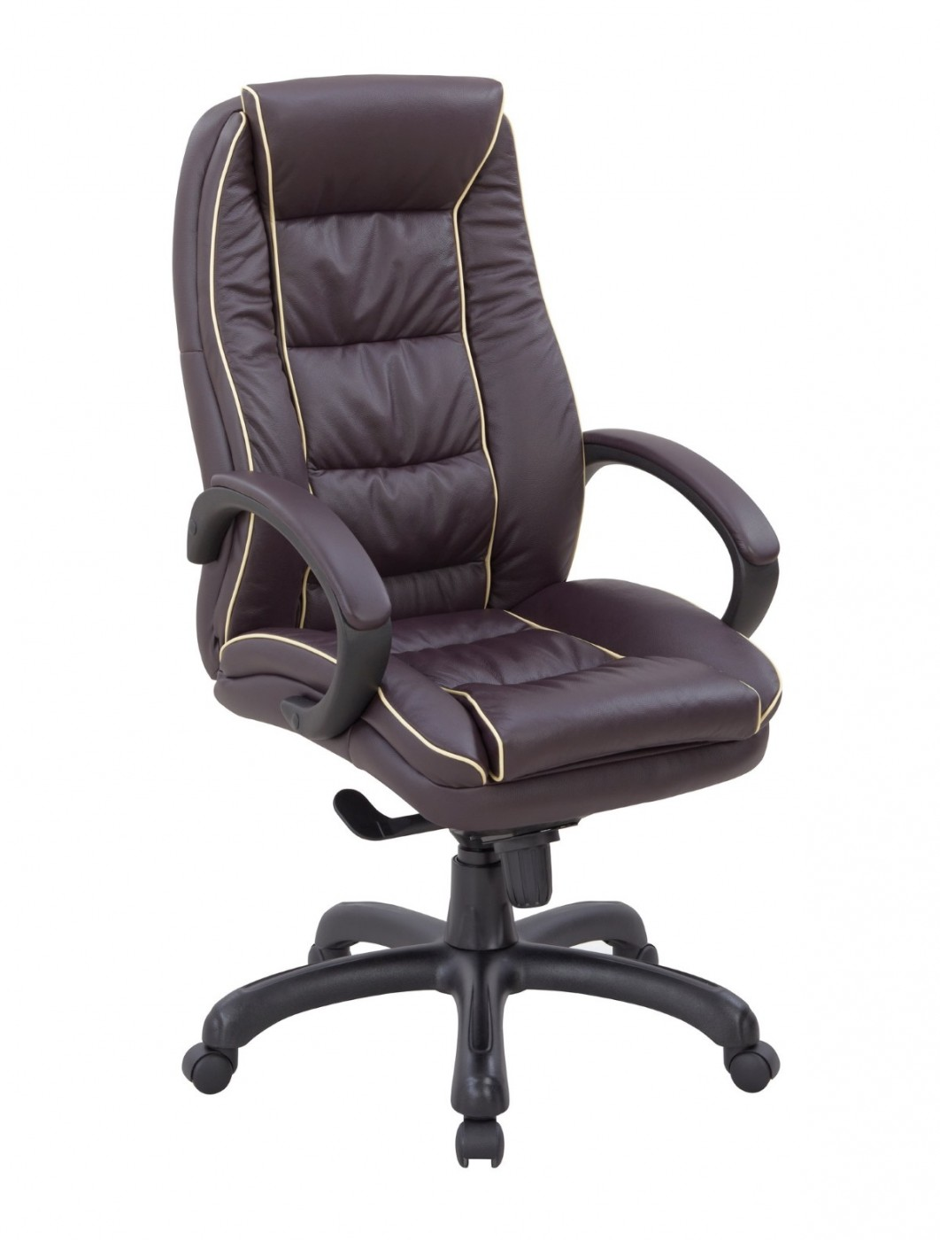 Office Chair Burgundy Leather Truro Executive Chair 609ktag Lby 121 Office Furniture