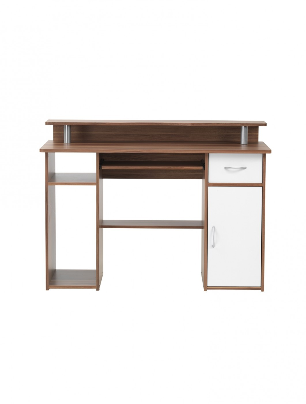 Home Office Desk Walnut Albany Computer Desk AW12362-W by Alphason