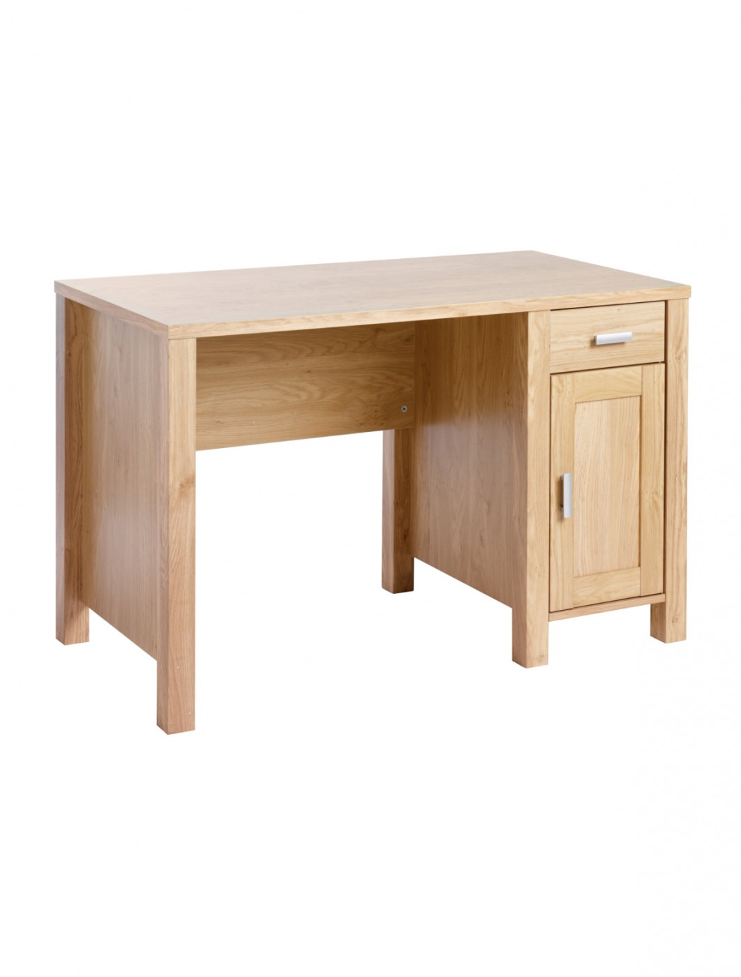 Home Office Desk Oak Effect Amazonia Home Workstation AMAWS by Dams