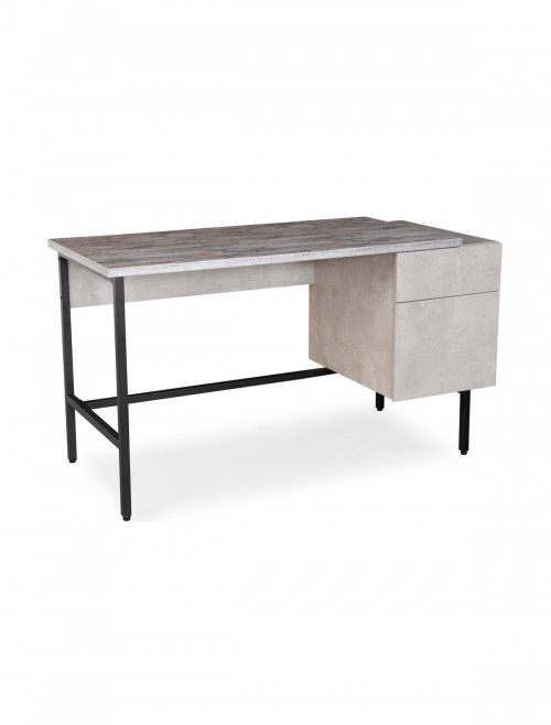 Home Office Desk Grey Delphi Home Workstation DELWS-K by Dams