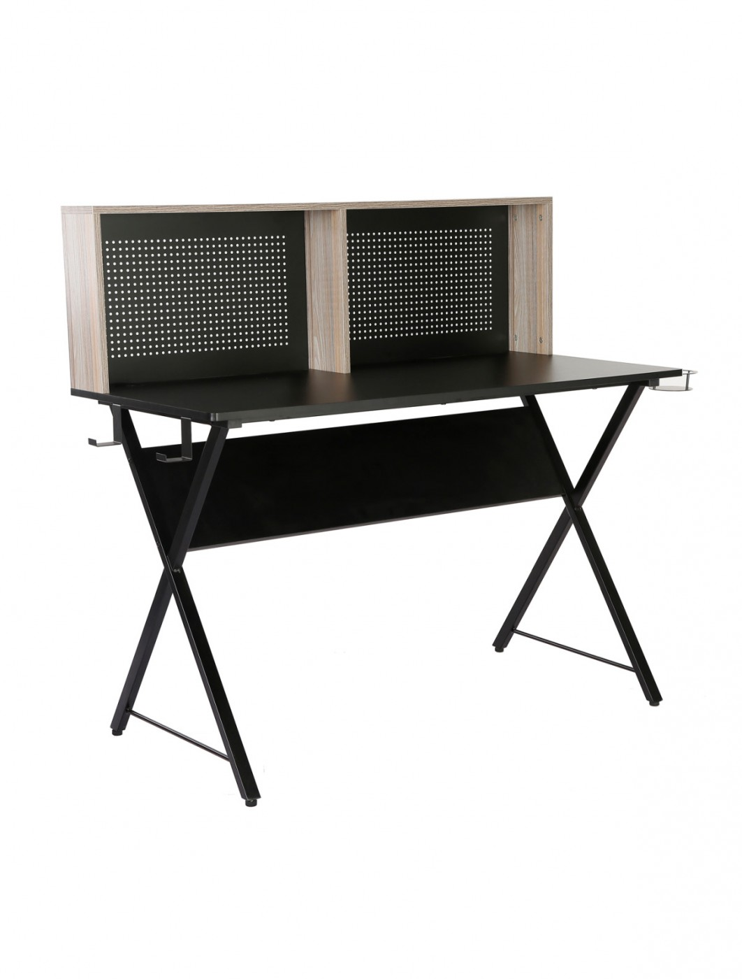 Home Office Desk Grey Ellora Home Workstation ELLWS-K by Dams