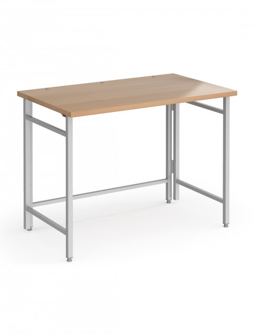 Home Office Desk Folding Fuji Home Workstation Beech FDK610SB by Dams