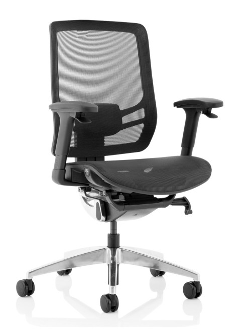 Mesh Office Chair Black Ergo Click 24hr Chair OP000251 by Dynamic