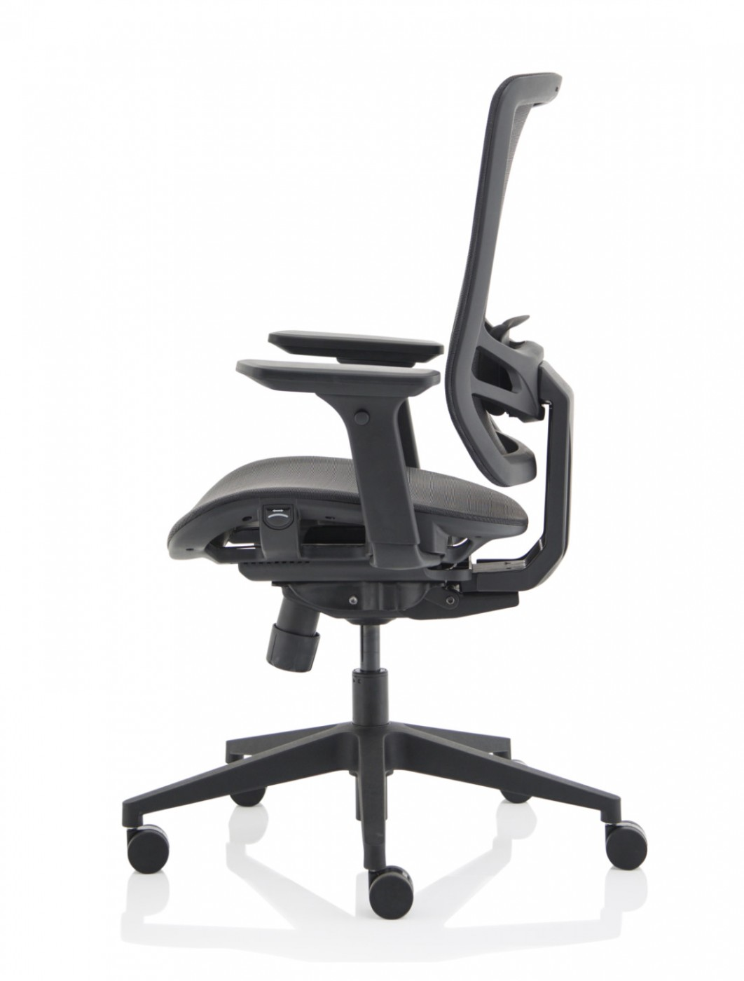 Mesh Office Chair Black Ergo Twist Chair OP000253 by Dynamic