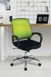 Mesh Office Chair Green Carousel Operator Chair BCM/F1203/GN by Eliza Tinsley - enlarged view