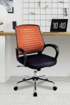 Mesh Office Chair Orange Carousel Operator Chair BCM/F1203/OG by Eliza Tinsley - enlarged view