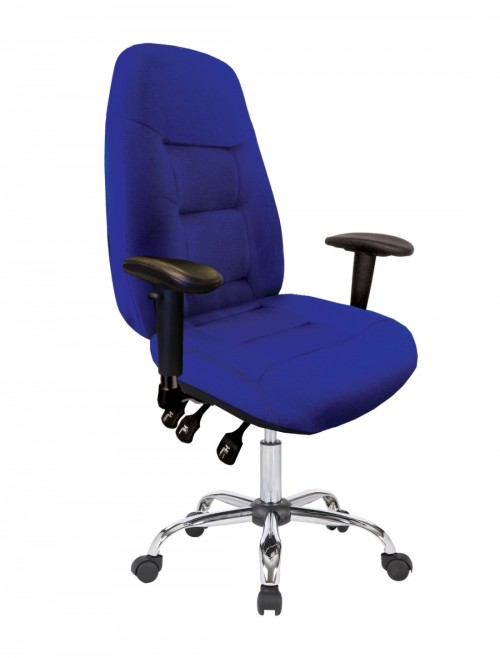 Office Chair Blue Babylon 24 Hour Operator Chair BCF/R440/BL by Eliza Tinsley