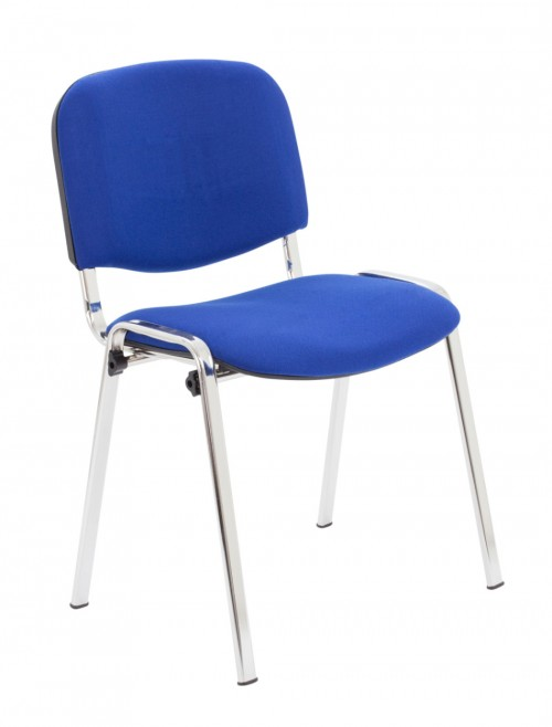 Reception Seating Royal Blue Club Stackable Visitors Chair CH0503RB by TC Office