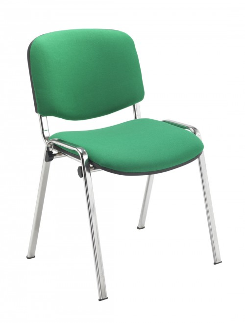 Reception Seating Green Club Stackable Visitors Chair CH0503GN by TC Office