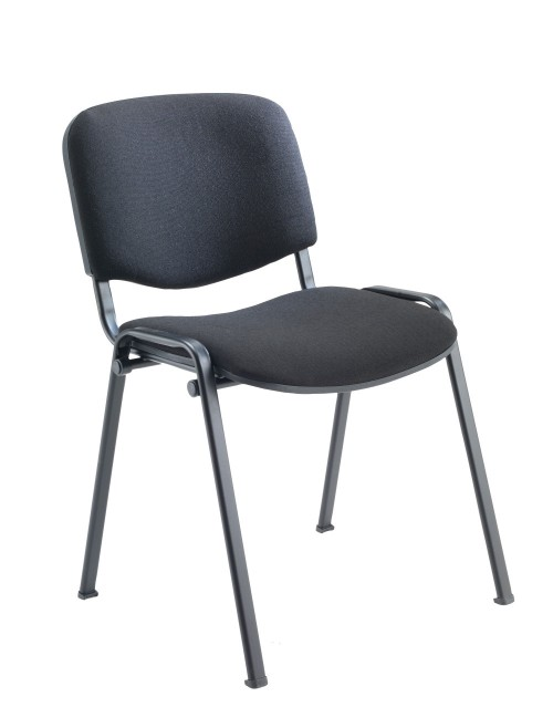 Reception Seating Charcoal Club Stackable Visitors Chair CH0500CH by TC Office