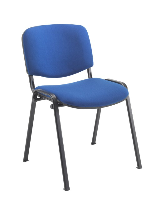 Reception Seating Royal Blue Club Stackable Visitors Chair CH0500RB by TC Office
