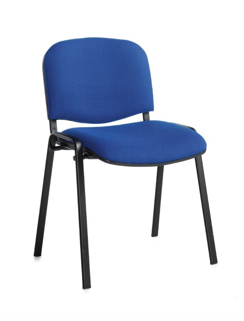 Stacking Chairs Taurus Blue Reception Chairs TAU40002-B by Dams