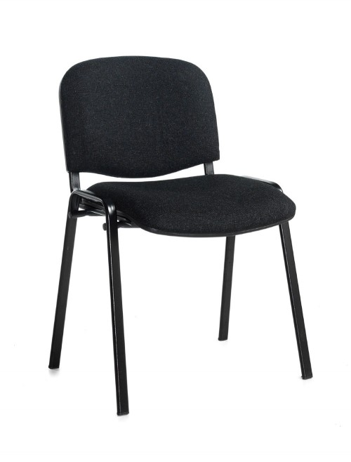 Stacking Chairs Taurus Charcoal Reception Chairs TAU40002-C by Dams