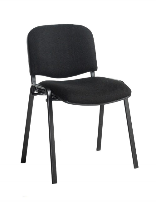 Stacking Chairs Taurus Black Reception Chairs TAU40002-K by Dams