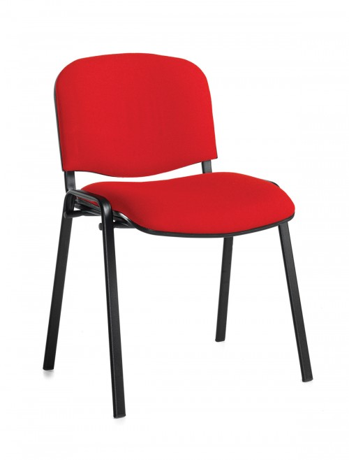 Stacking Chairs Taurus Red Reception Chairs TAU40002-R by Dams