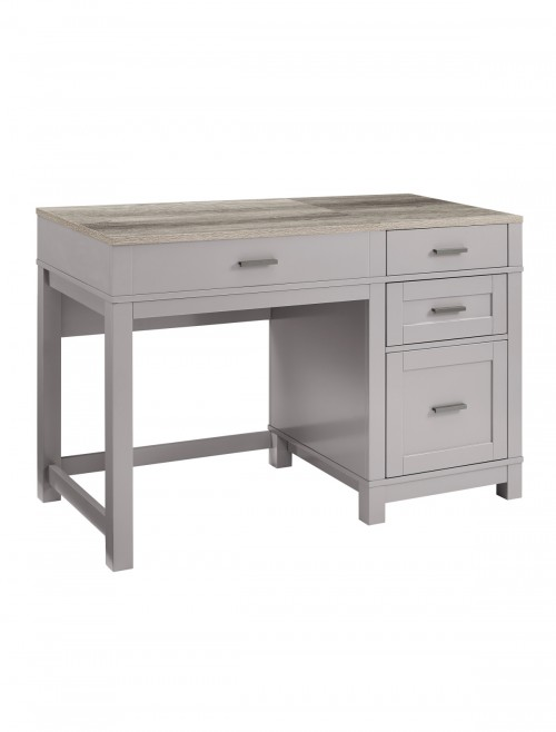 Home Office Desk Grey Carver Lift-Top Computer Desk 9257096COMUK by Alphason Dorel