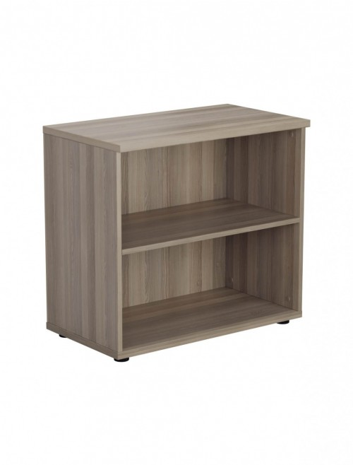 Office Bookcase Grey Oak Desk High Bookcase WDS745GO by TC