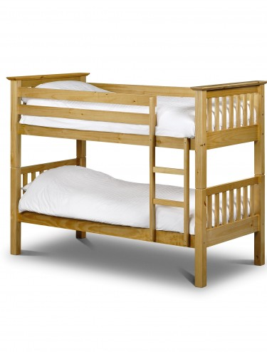 Julian Bowen Barcelona Bunk Bed BAR008 Pine