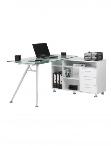 Alphason Augusta Corner Workcentre AW13366A-CL