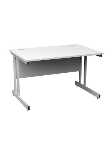 Cantilever Straight Desk - Momento 1000mm wide MOM10