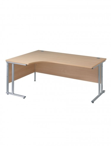 Momento MOM18EL Left Handed Ergonomic Cantilever Desk 1800mm wide