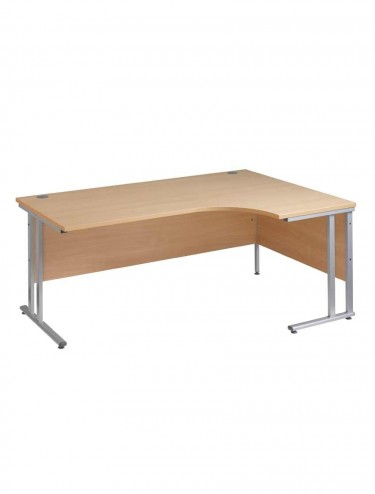Momento Right Handed Ergonomic Cantilever Desk 1800mm wide MOM18ER