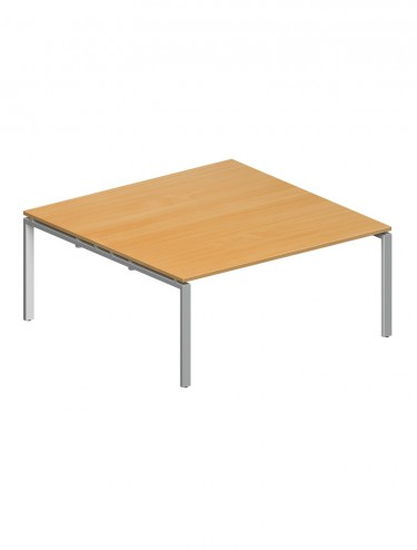 Adapt II Boardroom Table Starter Unit EBT1616-SB 1600x1600mm