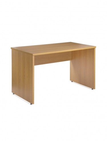 Panel End Straight Desk -Eco/Dynamic 1380mm wide EC1380