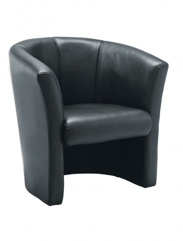 TC Leather-look Tub Armchair OF0201