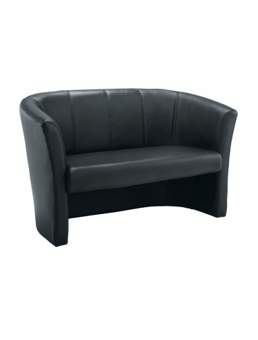 TC Leather-look Tub Sofa OF0200