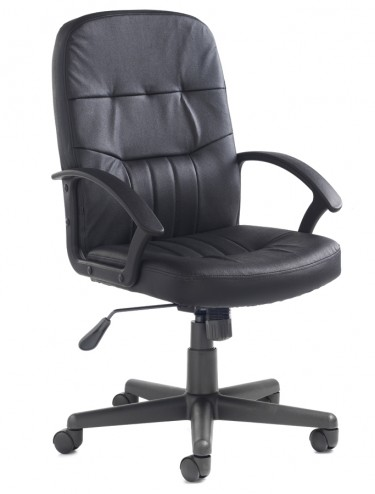 Cavalier Leather Faced Managers Chair CAV300T1
