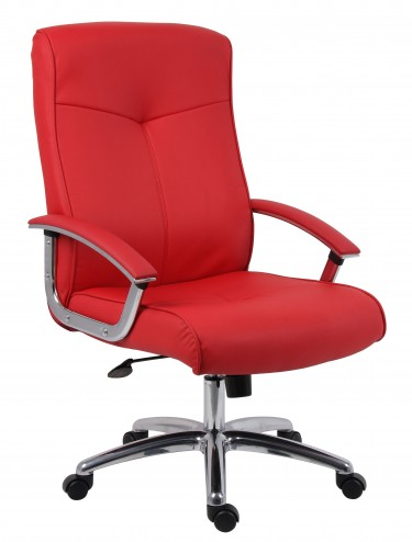 Hoxton Executive Red Office Chair 8510H-LF01