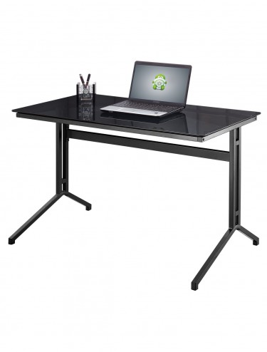 Splice Desk AW53360 Glass Workstation