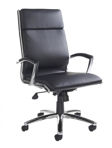 Florence Leather Faced Executive High Back Chair FLO300T1