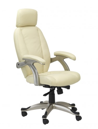 AOC6355-L Alphason Bentley High Back Leather Faced Executive Chair