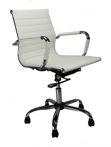 8003PU Aura Medium Back Managers Swivel Chair