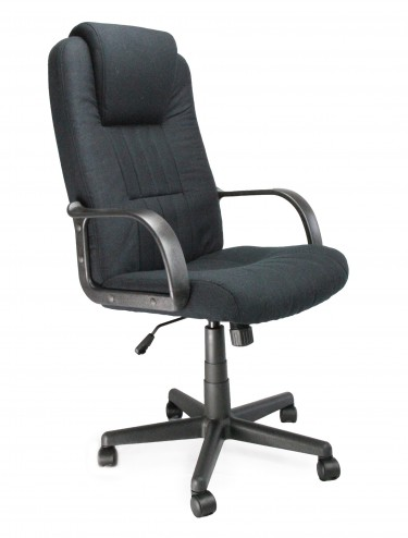 4516ATGF/BK Bravo Fabric Managers Chair