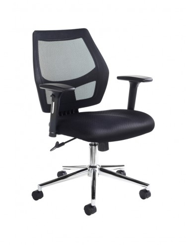 GRN300T1-K Granthan Fabric Mesh Operator Chair