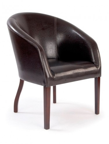 Eliza Tinsley 7764/BW Metro Curved Armchair