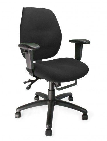 Severn Ergonomic Medium Back Operator Chair 1435MBSY/A