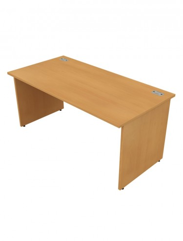 Bordeaux Straight Panel End Desk LP91257