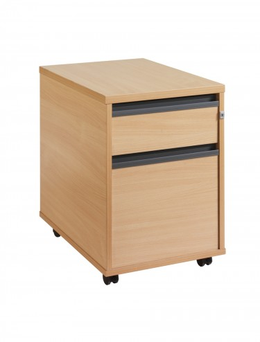 25M2 2 drawer mobile pedestal
