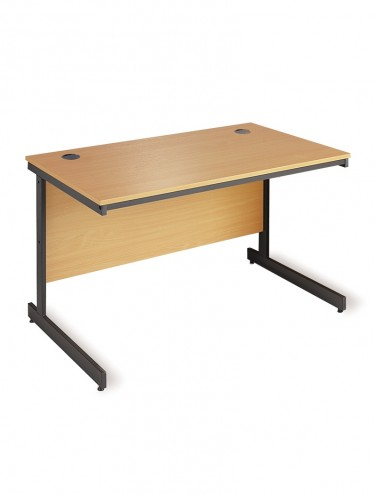 Straight  Desk - Maestro Cantilever Leg 754mm wide C3 Desk