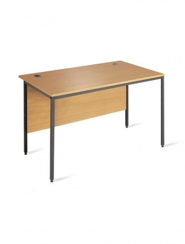 H4 Maestro H4 Straight  Desk 1228mm Wide