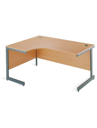 Maestro ME15L ME15R Ergonomic Cantilever Desk 1524mm wide